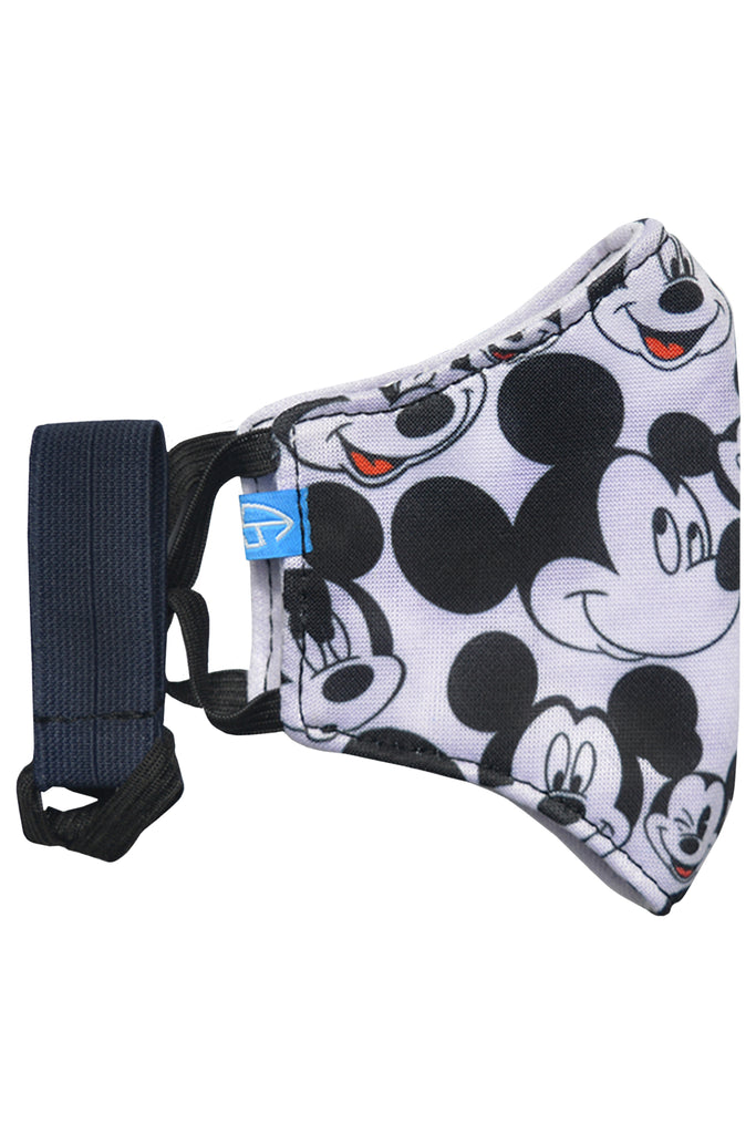 1 PCS OF DOUBLE LAYER MICKEY MOUSE FACE MASK FOR KID'S