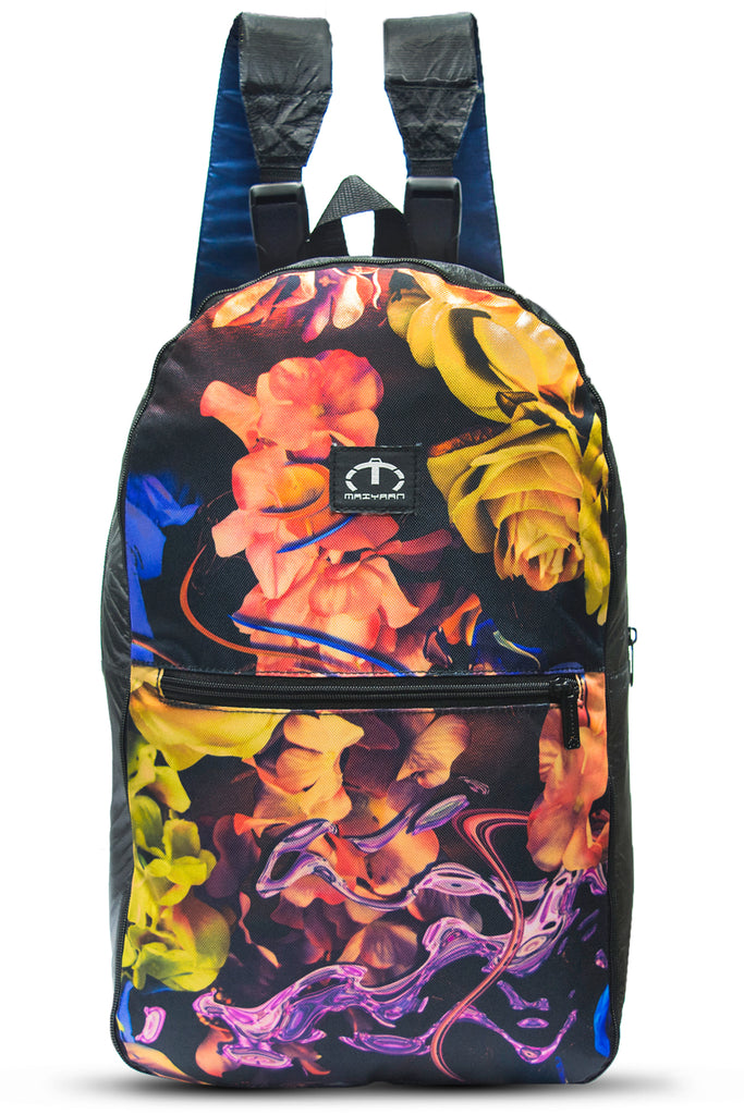 2 IN 1 BACKPACK FLOWERS