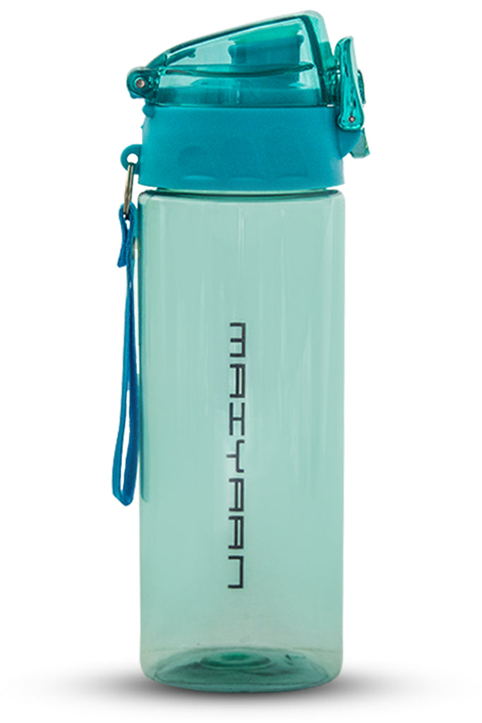 HARD PLASTIC BOTTLE BLUE