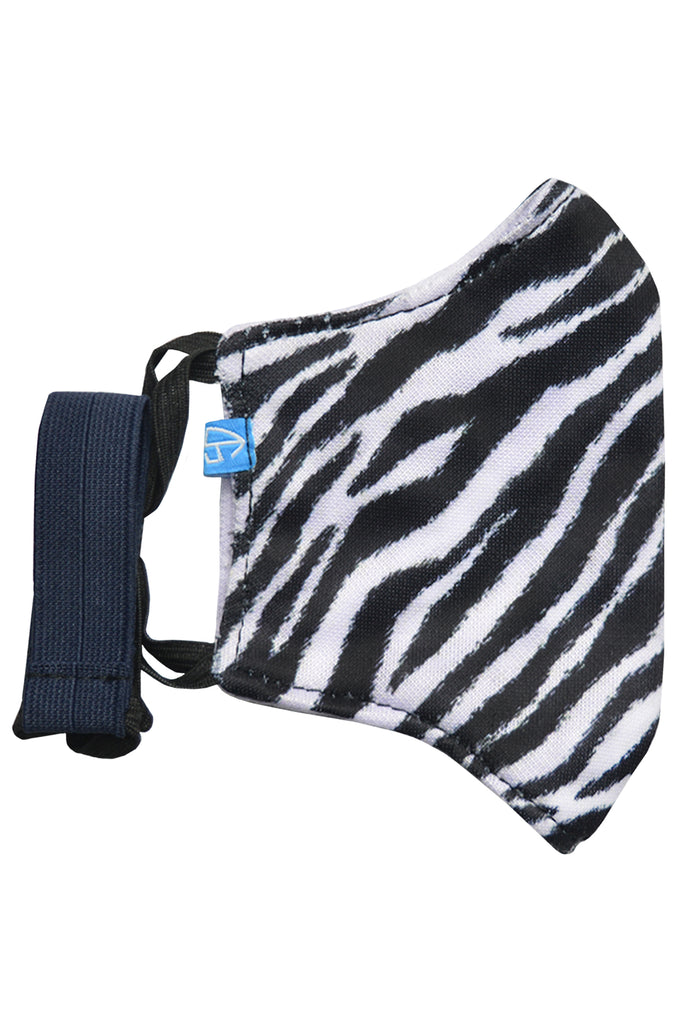 1 PCS OF DOUBLE LAYER ZEBRA FACE MASK