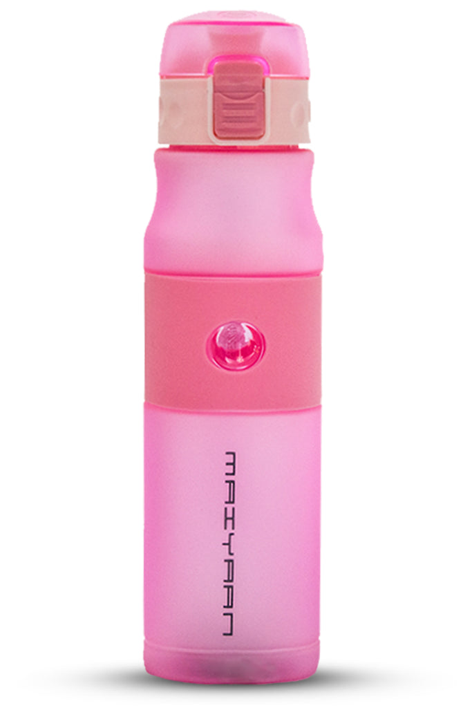 PLASTIC WEBBING BOTTLE PINK