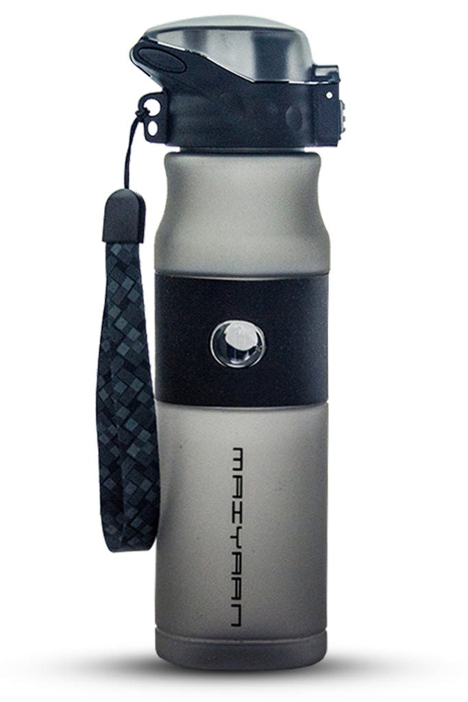 PLASTIC WEBBING BOTTLE BLACK