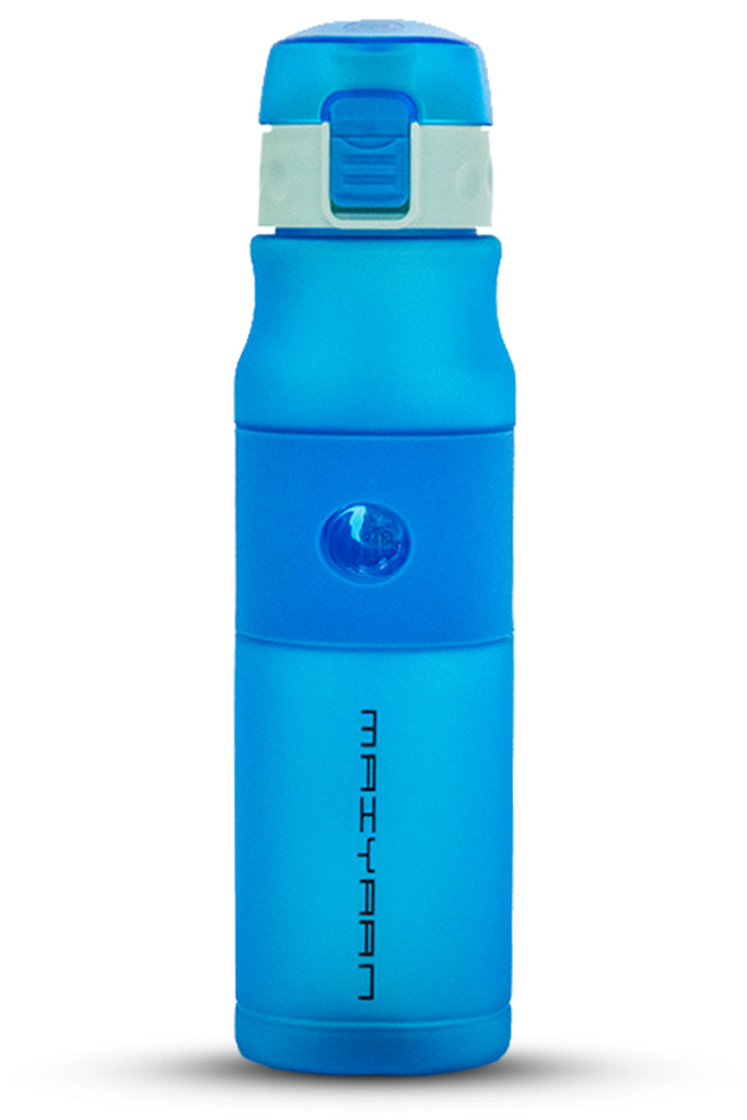 PLASTIC WEBBING BOTTLE BLUE