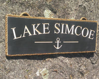 Lake Simcoe with Anchor - Maison Muskoka