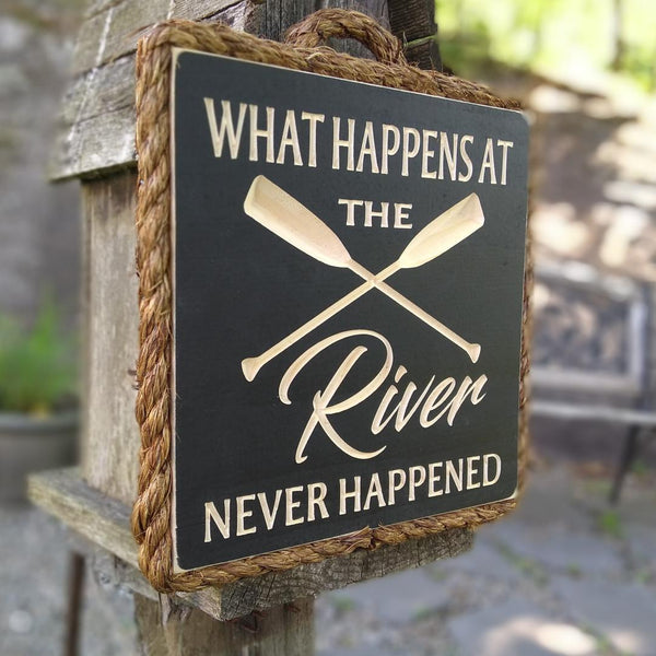 What Happens at The River Never Happened - Maison Muskoka