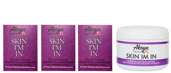 Akoyn Beauty Sleepy Time Bundle beauty products.