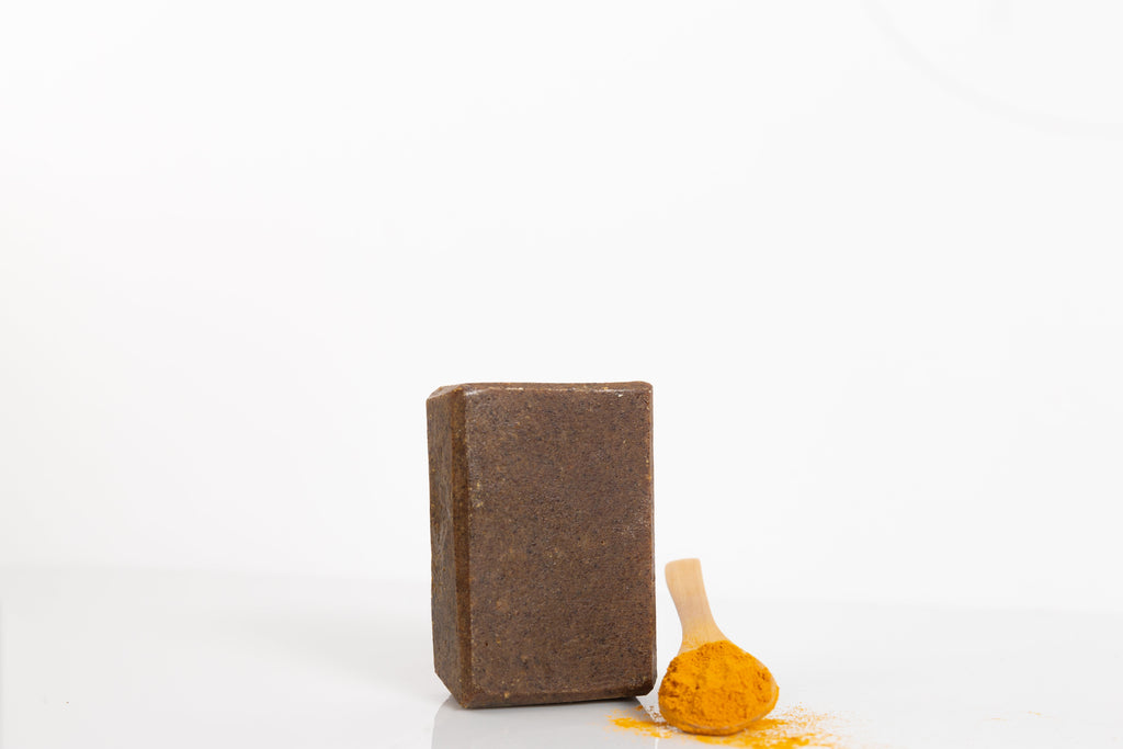 2 Bars Golden Mud Turmeric & Papaya Facial Soap Bundle