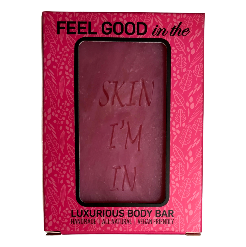 Pink Cranberry Bar Body Soap