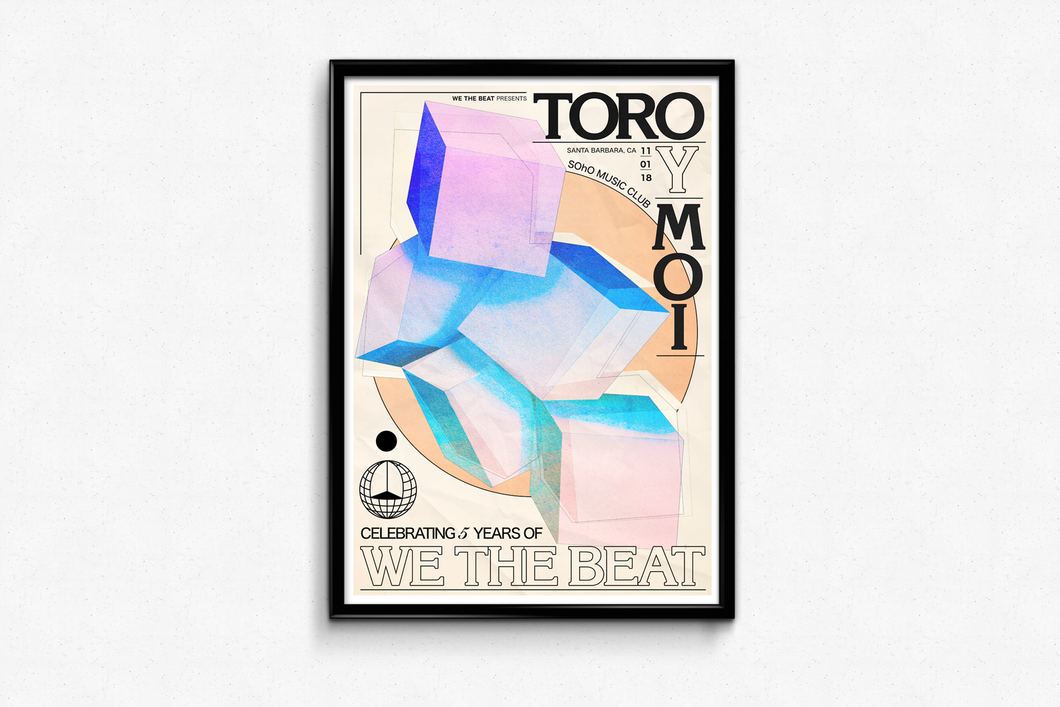 Toro y Moi 5 Year Poster