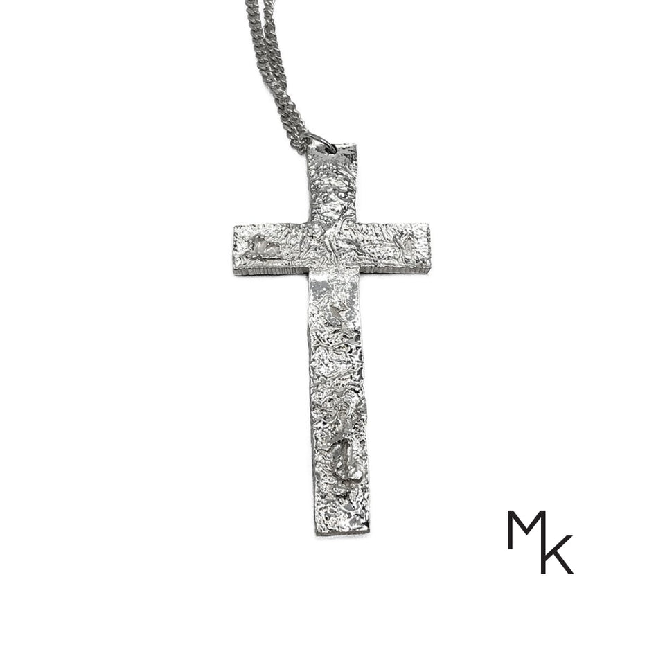 Cross Necklace 70 / Pure Silver - Limited Edition Necklace