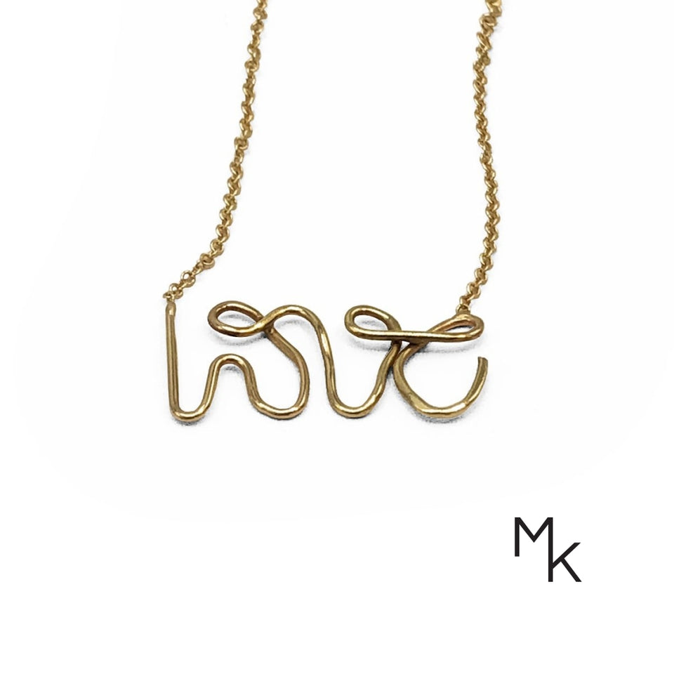Love Necklace 42 / 18K Gold Necklaces