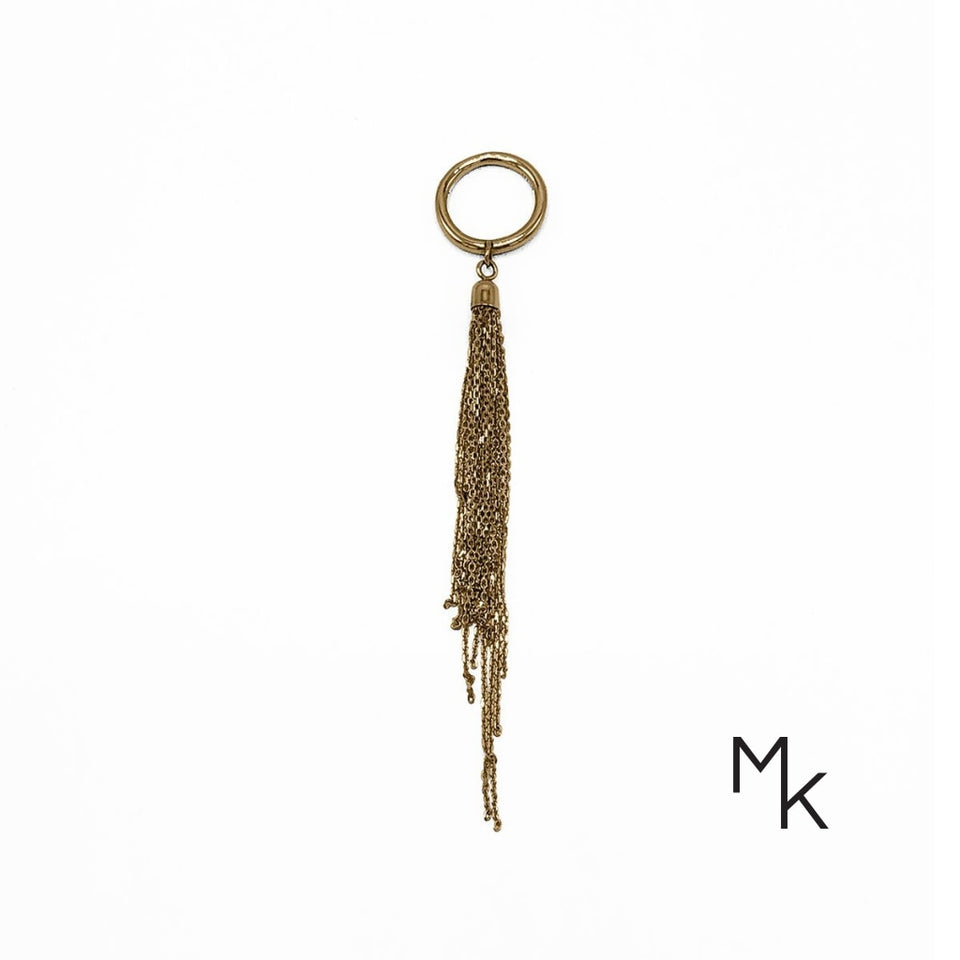 Tassle Ring 14 / 18K Gold
