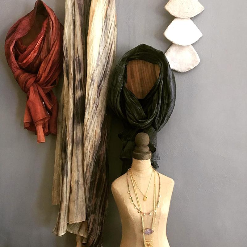 SIGNATURE WATERCOLOR SCARVES