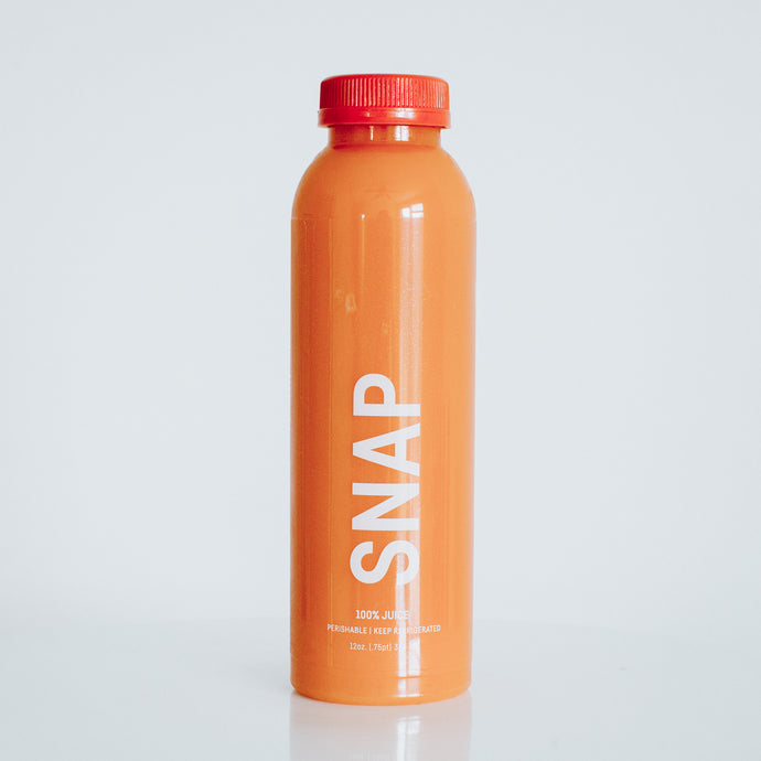 snap.  [apple, carrot, ginger]