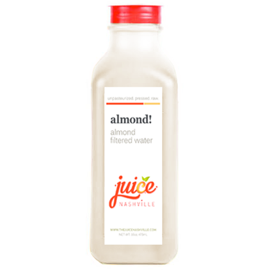 almond! - juice. Nashville