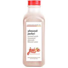 almond jacks! - juice. Nashville