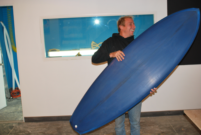 surfboard shaping lesson