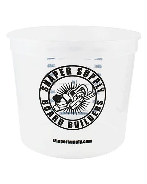 2.5 Quart Mix Cup - Front - Shaper Supply