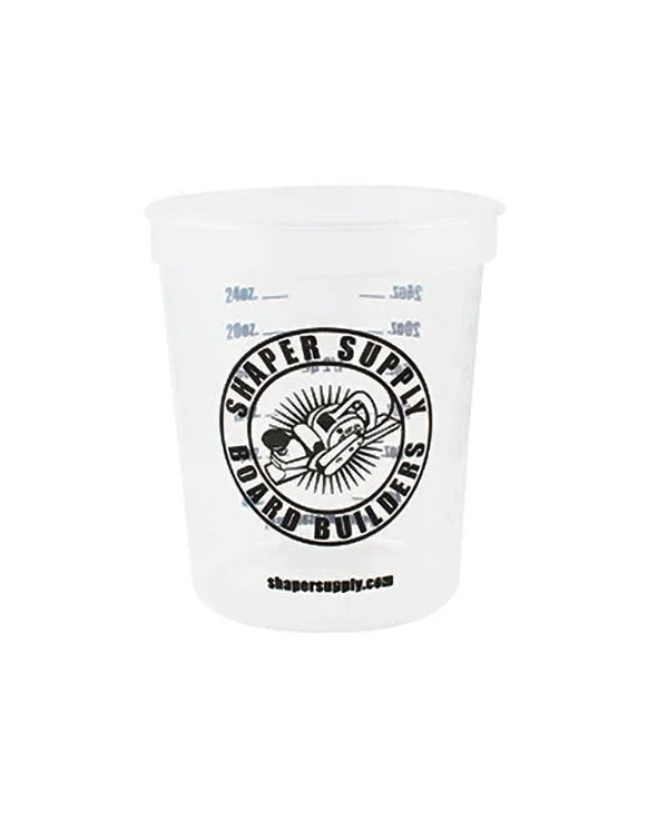 Quart Mix Cup - Front - Shaper Supply
