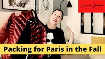 Paris Packing Tips for Fall w/ Yellow Brick Runway