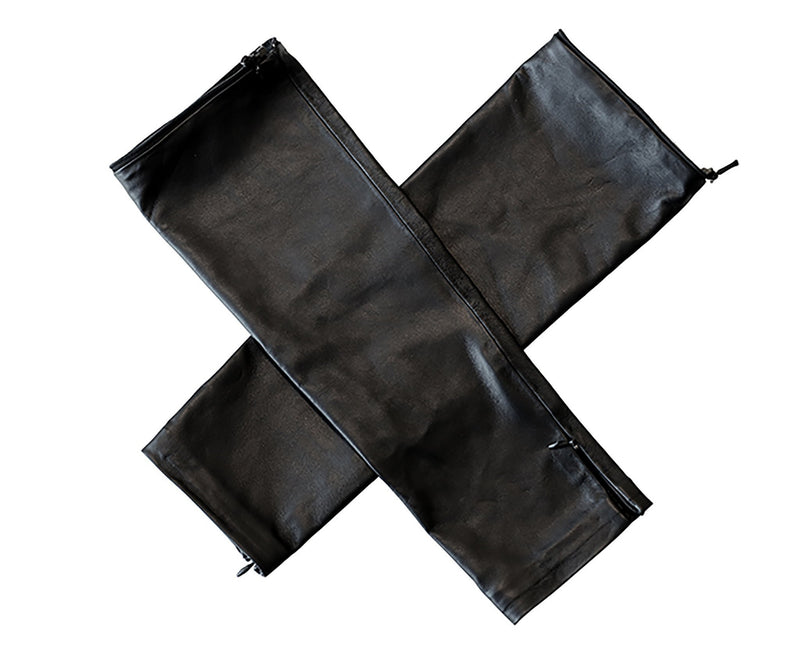 Coco Leather Sleeves