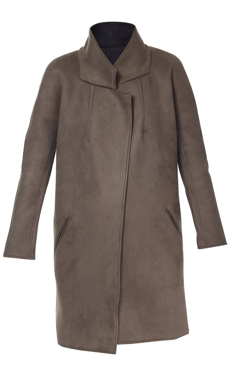 brown josies coat