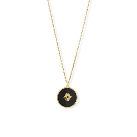 Image of Onyx Reversible Necklace