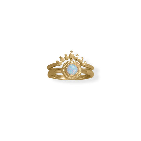 Image of Dot Krown Ring