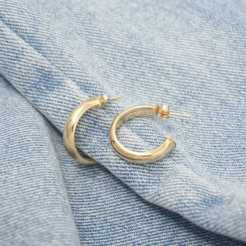 Image of Small Half Hoops