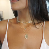 Aquarius koin Necklace