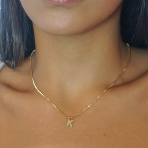 Image of Mini Initial Necklace