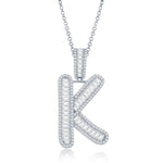 Krystal Baguette Necklace
