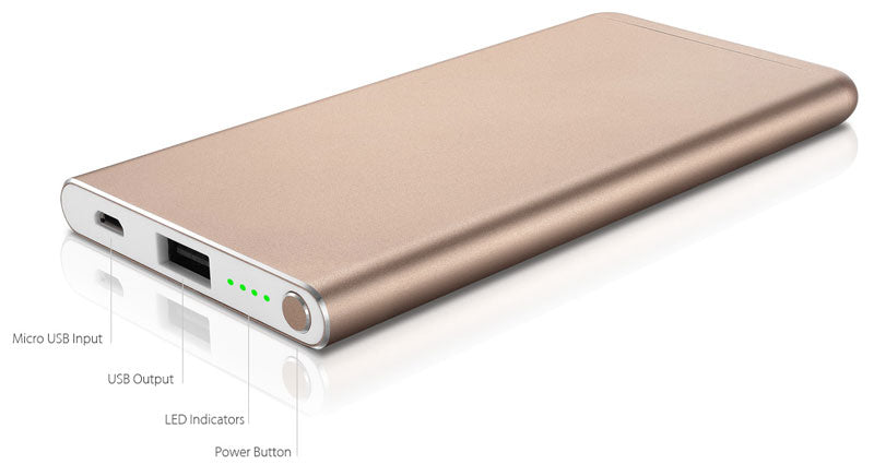 JUICIES Mobile Power Bank Side View