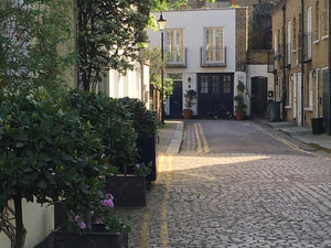Briton Home from London Mews