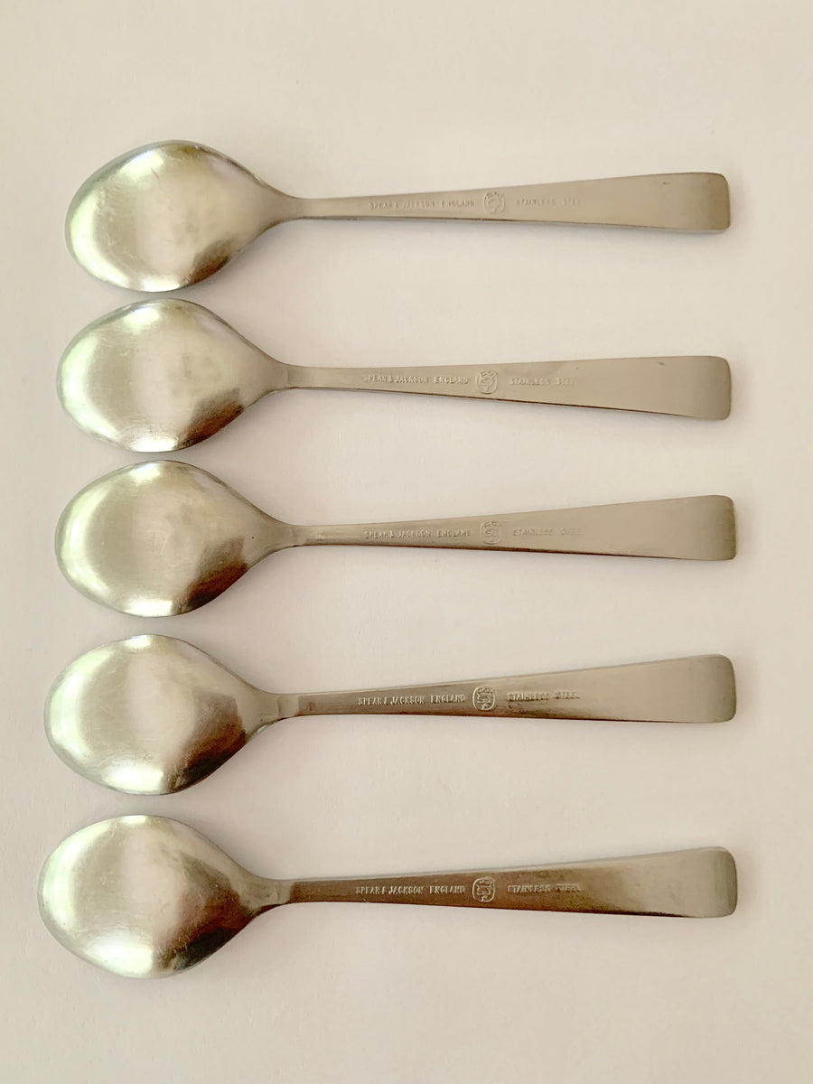 Spear & Jackson Stainless Steel demitasse spoons