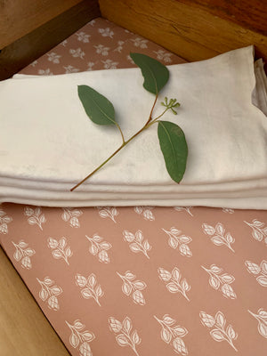 Pink Flora Drawer Liners by Sam Wilson