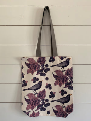 Blackbird & Bramble Tote Bag by Thornback & Peel