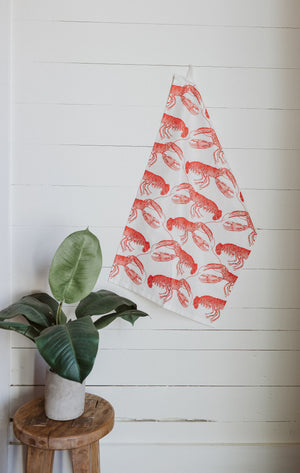 Thornback & Peel Lobster Tea Towel