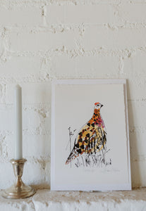 Sam Wilson Grouse Pheasant Print