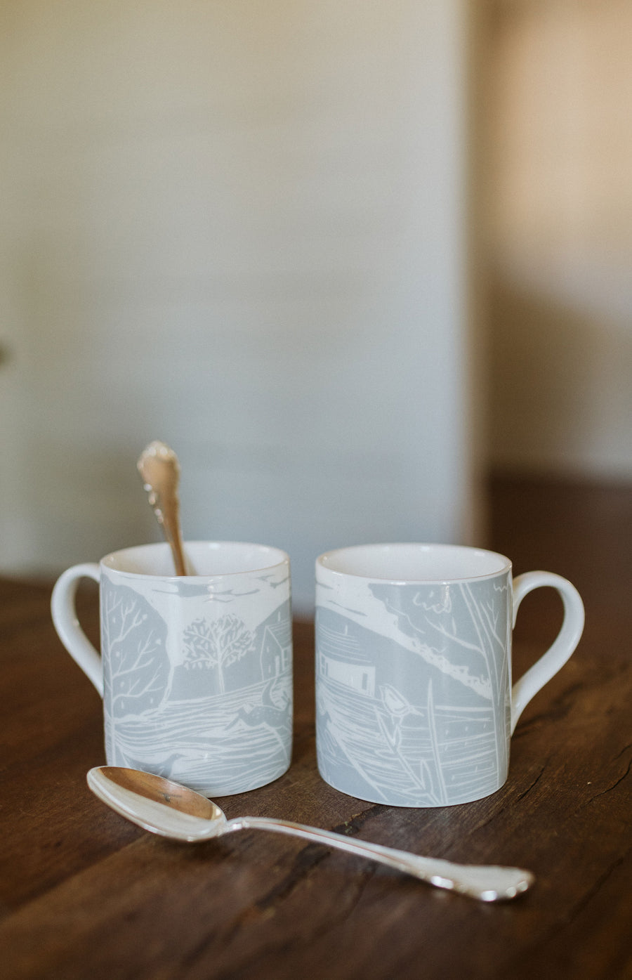 Briton Home offers fine bone china mugs made in England