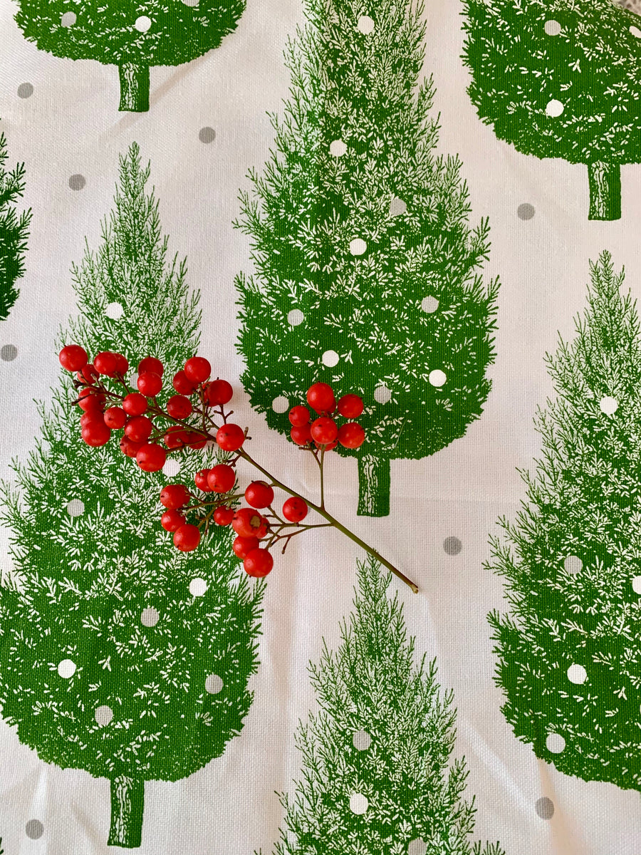 Christmas Tree Tea Towel by Thornback & Peel