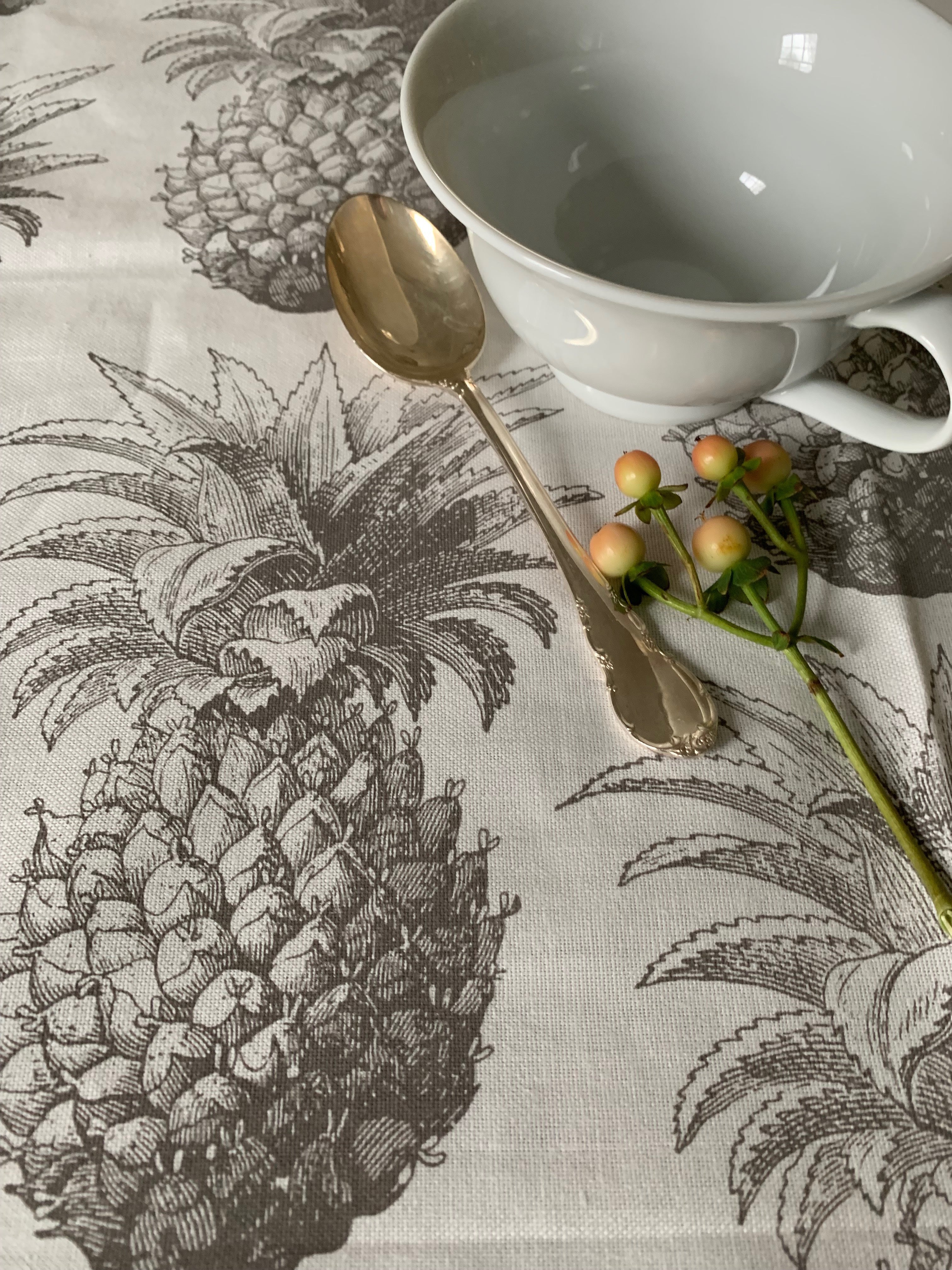 Thornback & Peel Pineapple Tea Towel