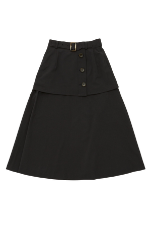 Trench Layered Skirt