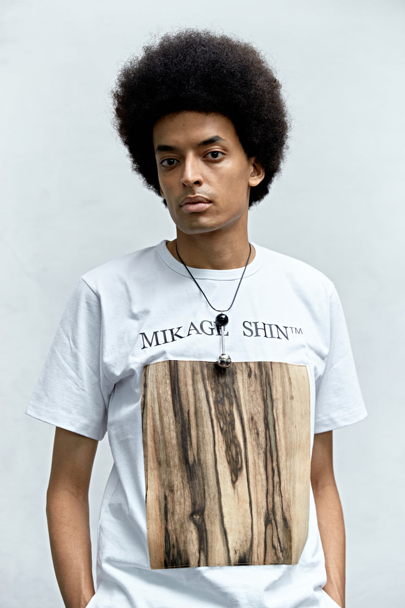 Real Wood Vegan T-shirt