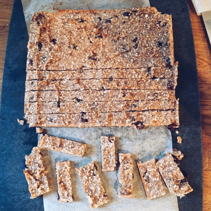SUPAH HEALTHY MUESLI BARS