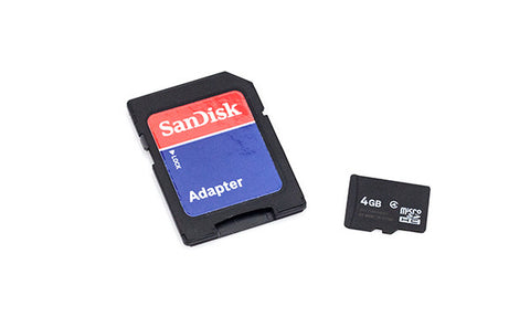 SanDisk 4GB Class 4 Micro SDHC Card