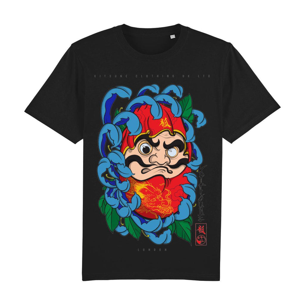 Daruma Doll Front Print-Clothing-Kitsune Clothing UK Ltd