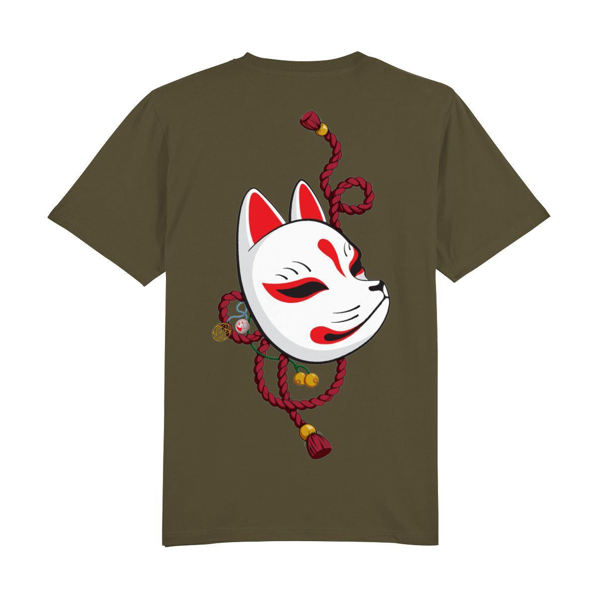 Kitsune Mask Back Print-Clothing-Kitsune Clothing UK Ltd