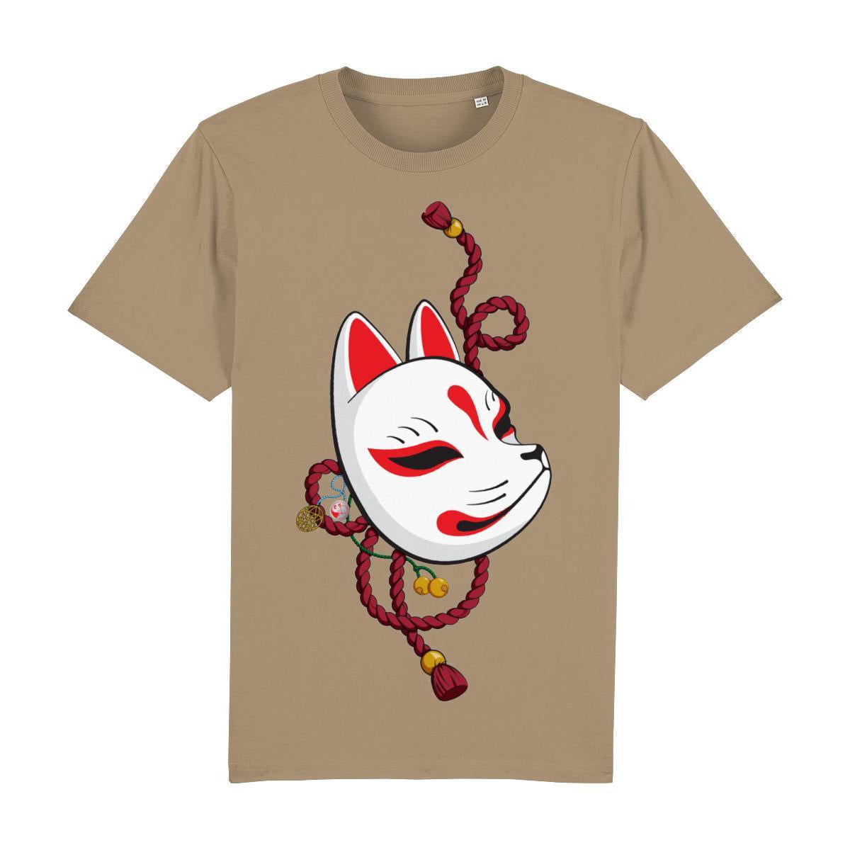 Kitsune Mask Front Print-Clothing-Kitsune Clothing UK Ltd