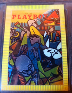 PLAYBOY - Chromium - SERIES 1 & 2 - Complete 100 Card Sets w/Factory Binder & Promo